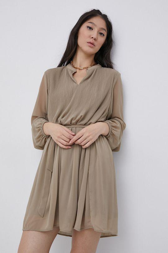Jacqueline de Yong - Sukienka beżowy