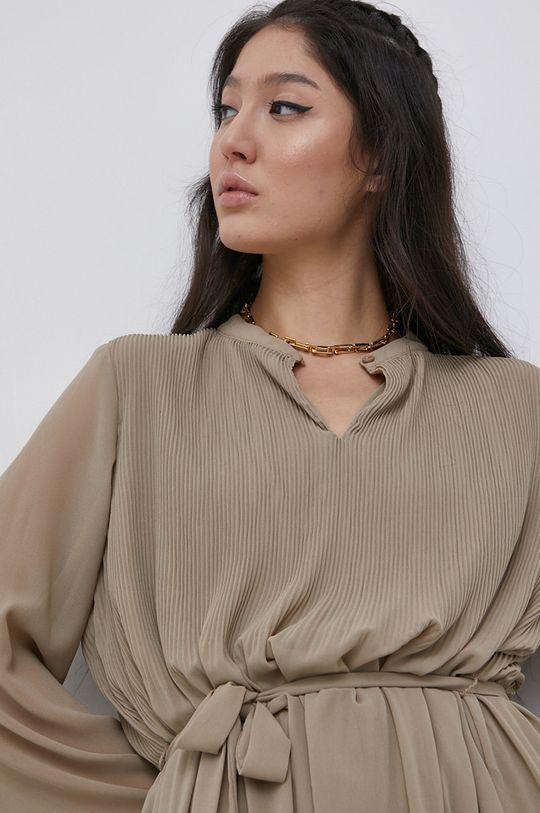 beżowy Jacqueline de Yong - Sukienka
