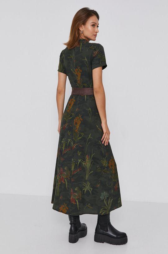 Desigual - Sukienka 100 % Lyocell TENCEL, Wskazówki pielęgnacyjne:  prać w pralce w temperaturze 30 stopni, nie suszyć w suszarce bębnowej, nie wybielać, prasować w niskiej temperaturze, Nie czyścić chemicznie