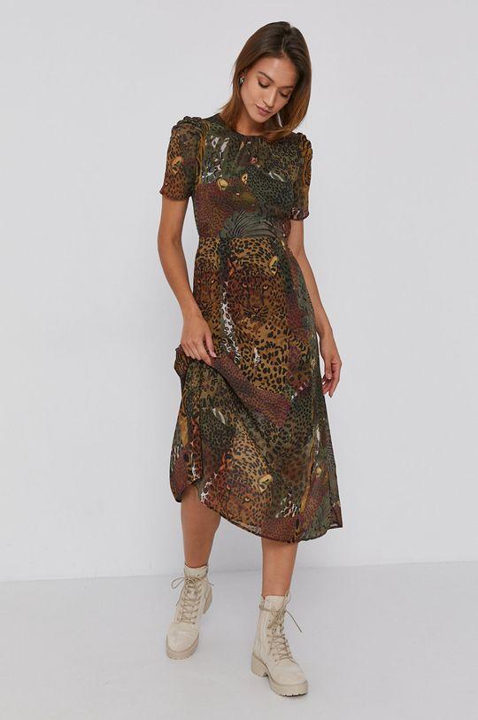 oliwkowy Desigual - Sukienka Damski
