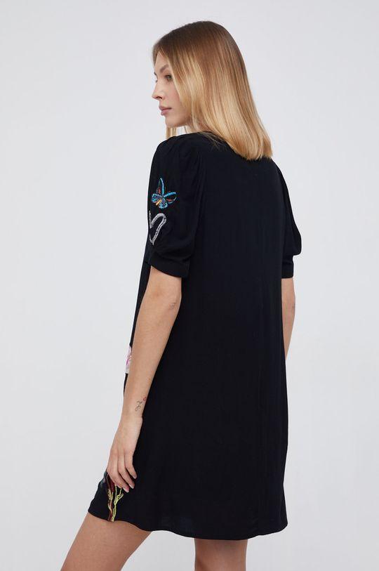 Desigual - Sukienka bawełniana Podszewka: 100 % Bawełna, Materiał zasadniczy: 100 % Wiskoza