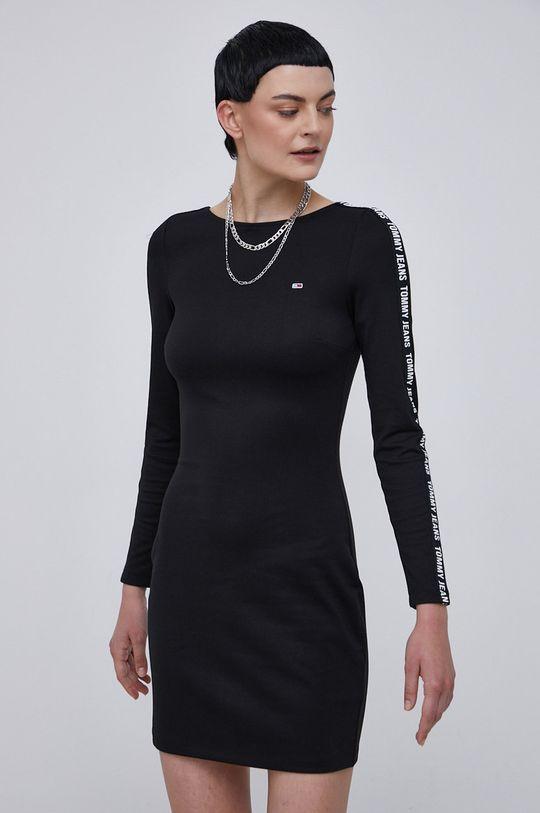 czarny Tommy Jeans - Sukienka