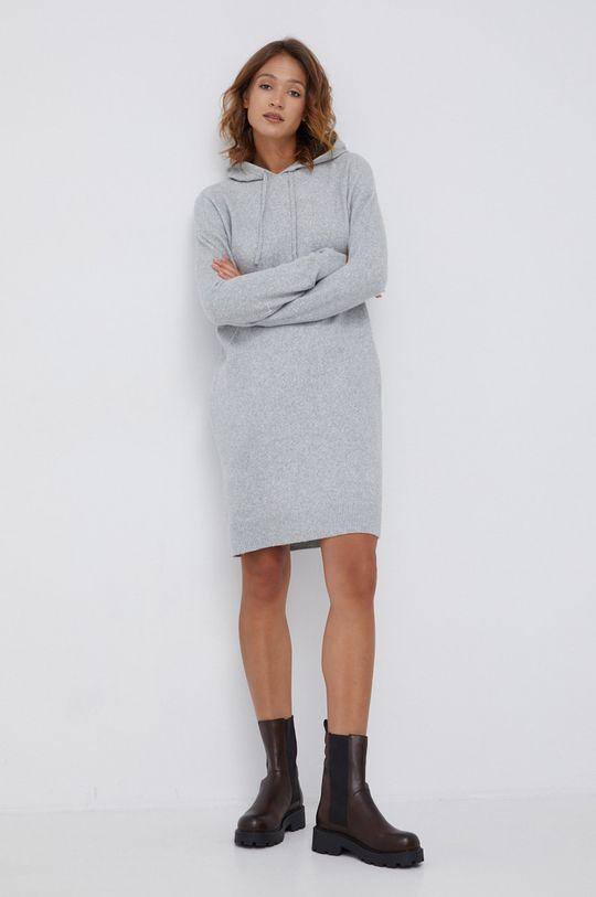 Tommy Hilfiger - Sukienka jasny szary