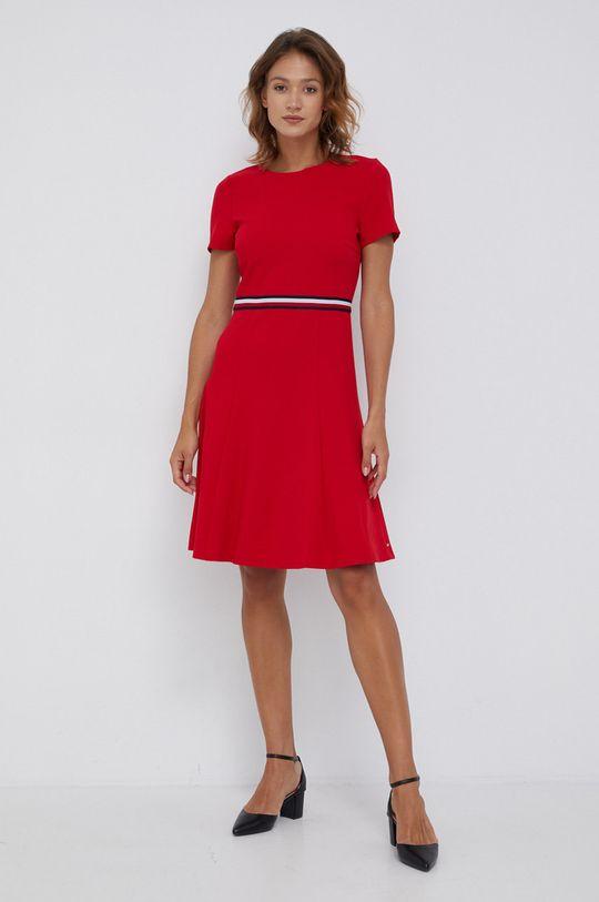 Tommy Hilfiger - Sukienka czerwony