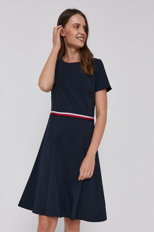 Tommy Hilfiger - Šaty námořnická modř