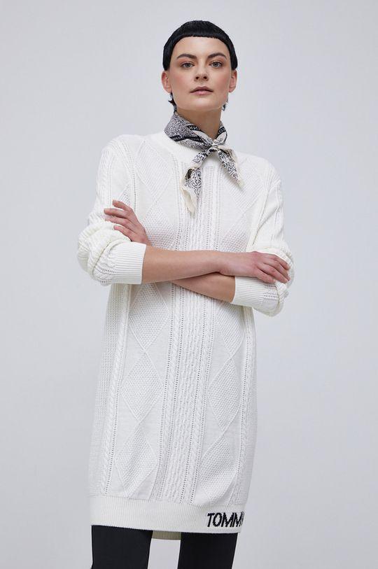 biały Tommy Jeans - Sukienka Damski