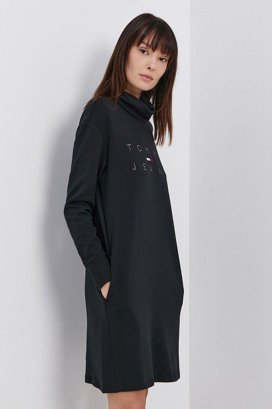 Tommy Jeans - Šaty čierna