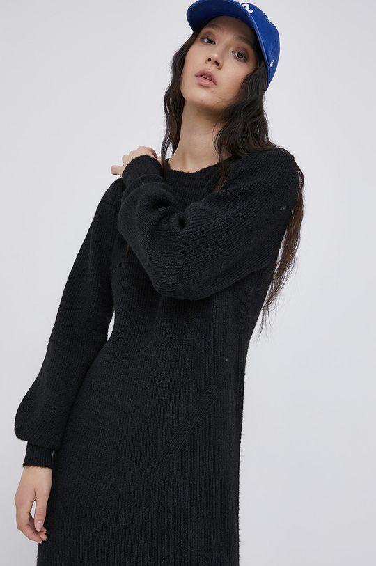 czarny Noisy May - Sukienka