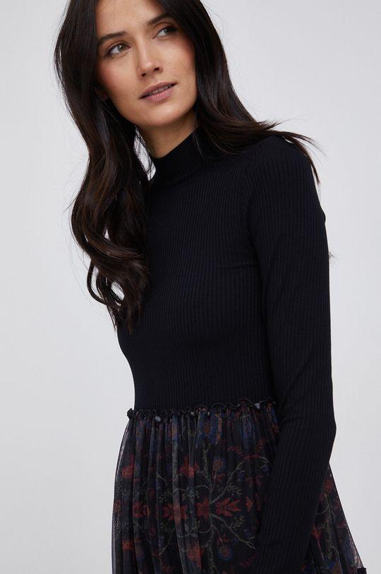 czarny Desigual - Sukienka