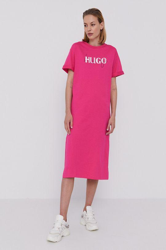 różowy Hugo - Sukienka Damski