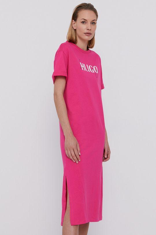 Hugo - Sukienka różowy