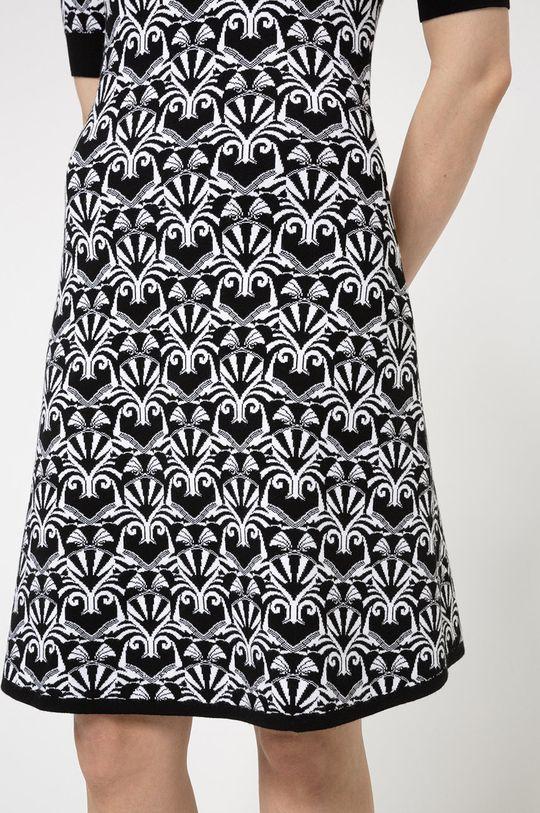 czarny Hugo - Sukienka