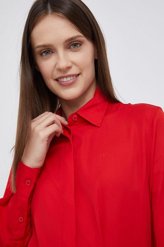 czerwony Calvin Klein - Sukienka