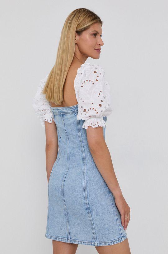 Miss Sixty - Sukienka jeansowa Materiał 1: 78 % Bawełna, 1 % Elastan, 21 % Lyocell, Materiał 2: 100 % Bawełna, Wykończenie: 100 % Poliester