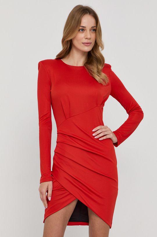 czerwony Patrizia Pepe - Sukienka Damski