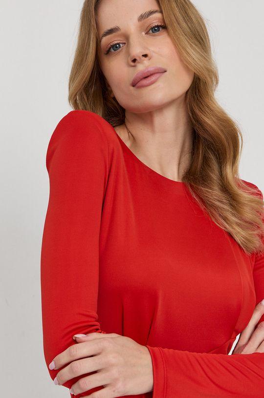 czerwony Patrizia Pepe - Sukienka