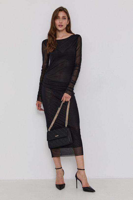 Patrizia Pepe - Sukienka czarny