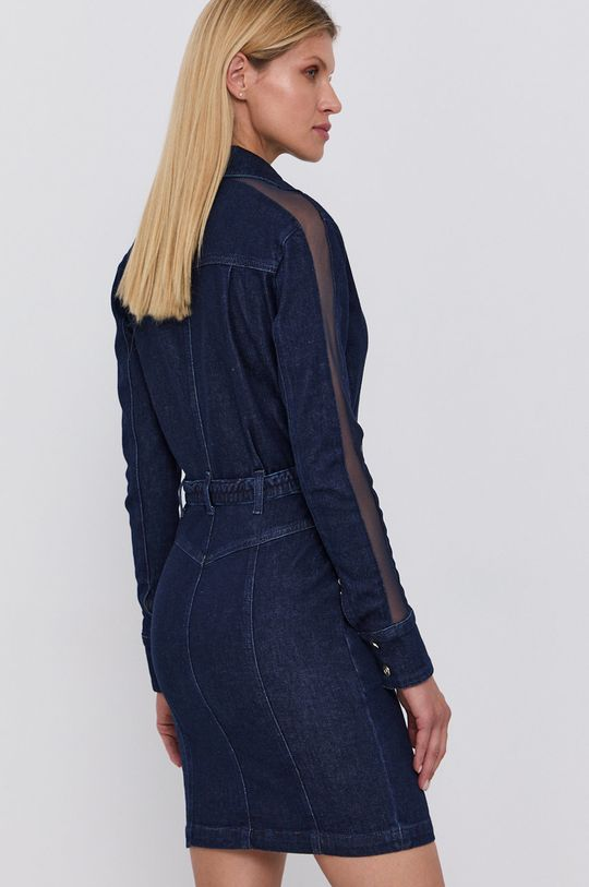Patrizia Pepe - Sukienka jeansowa 99 % Bawełna, 1 % Elastan