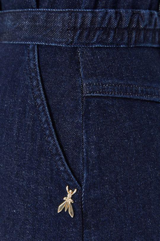 granatowy Patrizia Pepe - Sukienka jeansowa