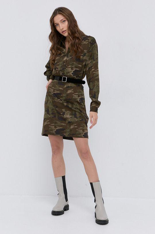 Guess - Sukienka militarny
