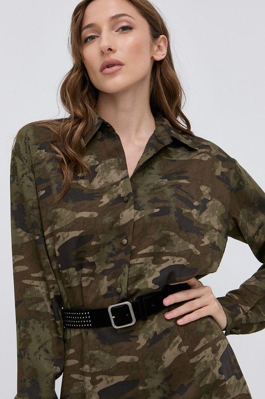 militarny Guess - Sukienka