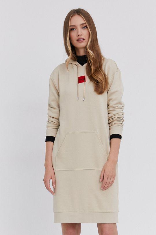 piaskowy Hugo - Sukienka Damski