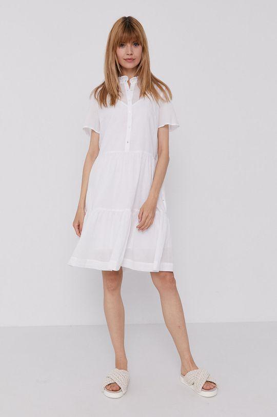 Tommy Hilfiger - Sukienka biały