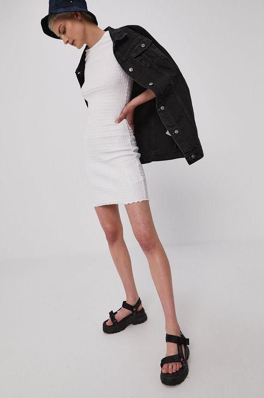 biela Tommy Jeans - Šaty Dámsky
