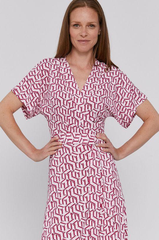růžová Tommy Hilfiger - Šaty