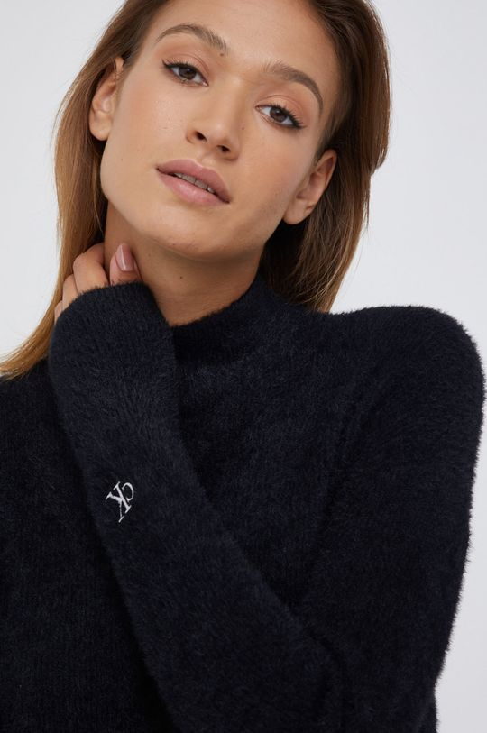 Calvin Klein Jeans - Sukienka z domieszką wełny Damski