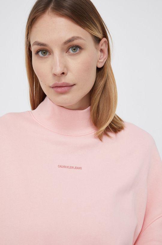 różowy Calvin Klein Jeans - Sukienka bawełniana