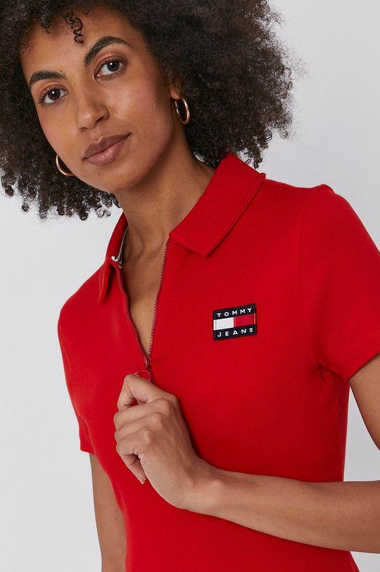 červená Tommy Jeans - Šaty