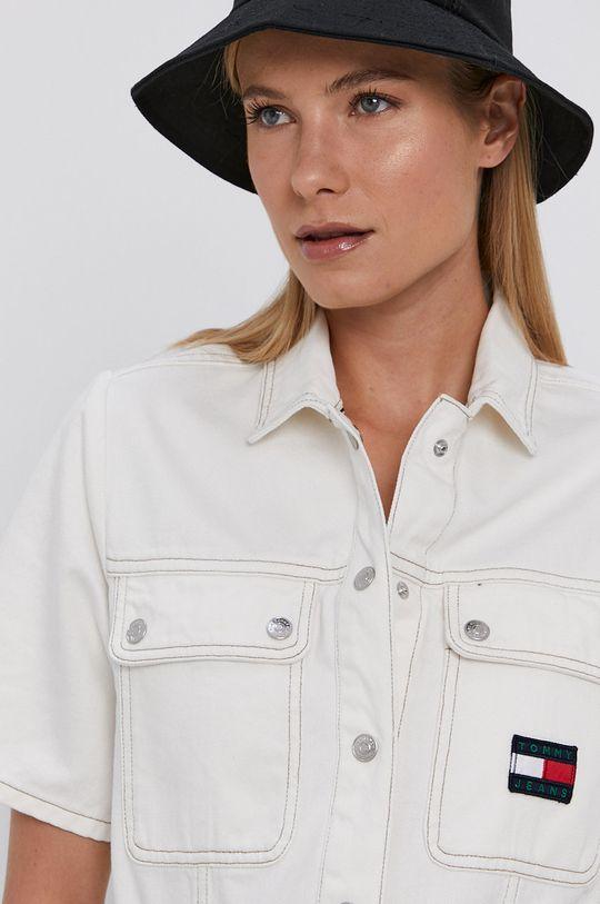 biały Tommy Jeans - Sukienka jeansowa