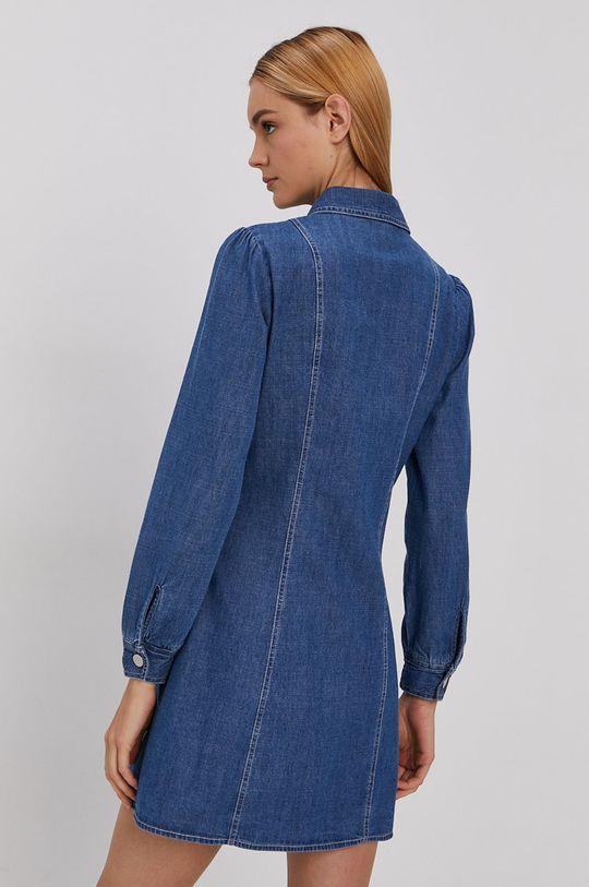 Tommy Jeans - Sukienka jeansowa 100 % Bawełna