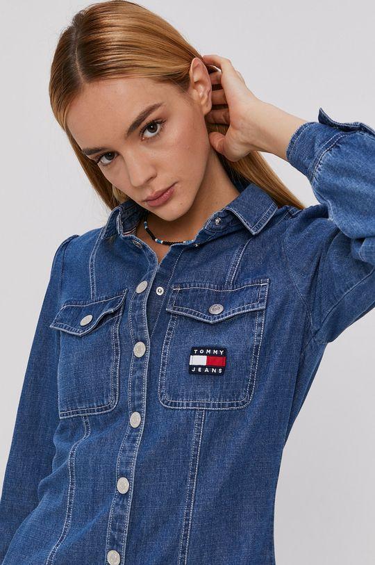 niebieski Tommy Jeans - Sukienka jeansowa