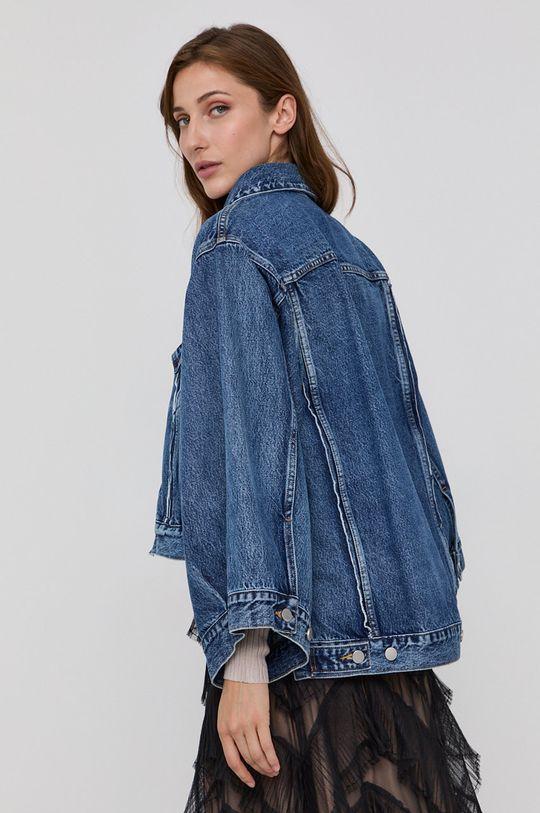 niebieski Red Valentino - Kurtka jeansowa