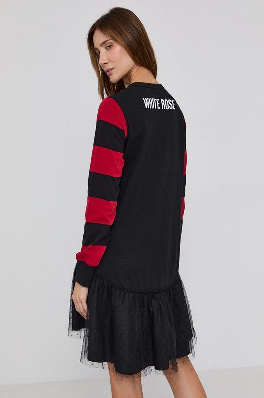 Red Valentino - Šaty  Podšívka: 100% Polyamid Materiál č. 1: 100% Bavlna Materiál č. 2: 100% Polyamid