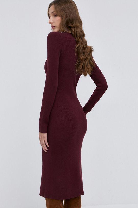Pinko - Sukienka z domieszką wełny Materiał 1: 41 % Akryl, 2 % Elastan, 16 % Poliamid, 41 % Wełna, Materiał 2: 100 % Poliester