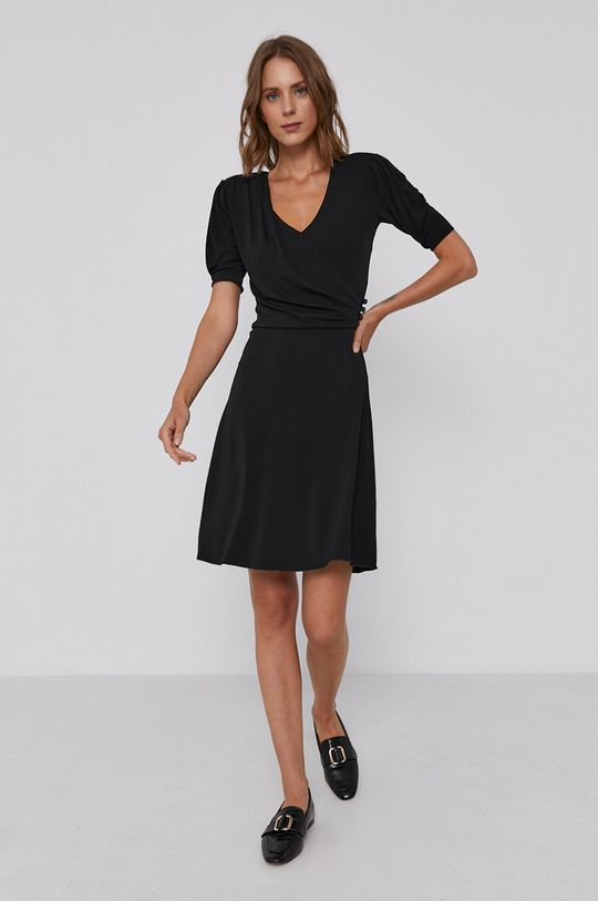 Emporio Armani - Sukienka 4 % Elastan, 96 % Wiskoza