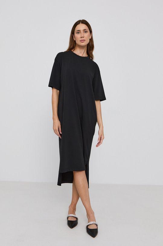 čierna MAX&Co. - Bavlnené šaty Dámsky