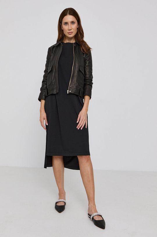 čierna MAX&Co. - Bavlnené šaty