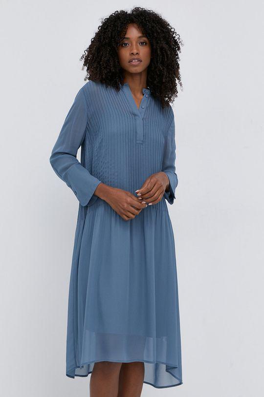 Samsoe Samsoe - Sukienka fioletowy