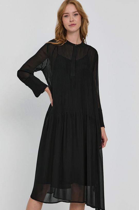 czarny Samsoe Samsoe - Sukienka