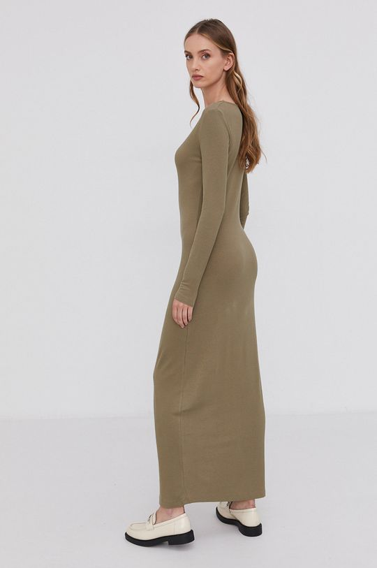 Samsoe Samsoe - Sukienka 5 % Elastan, 95 % Wiskoza