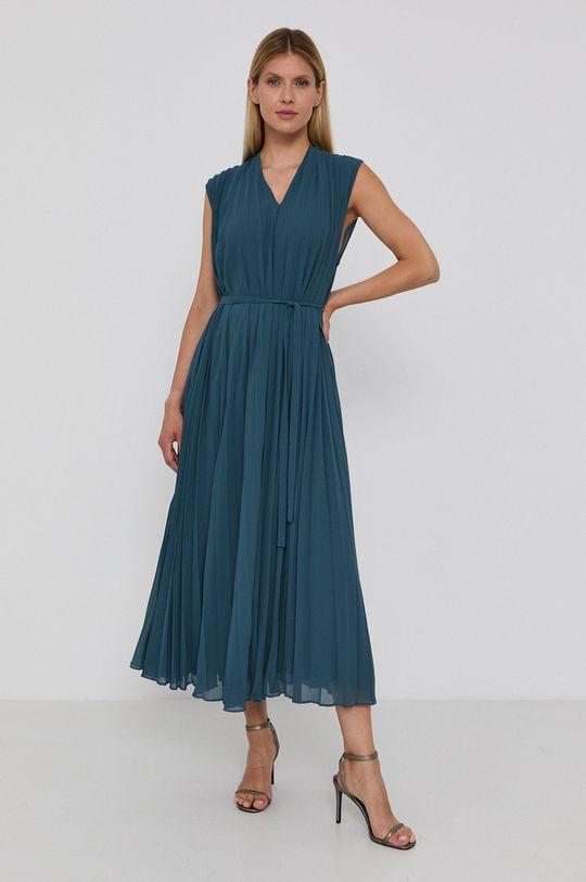 Samsoe Samsoe - Sukienka cyraneczka