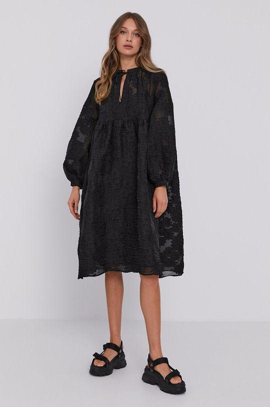 Samsoe Samsoe - Sukienka czarny