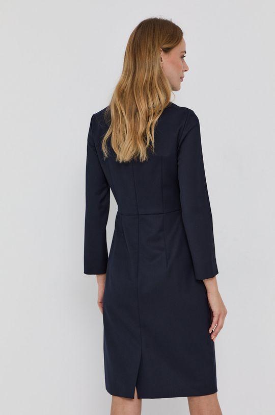 Boss - Sukienka 1 % Elastan, 99 % Wełna dziewicza