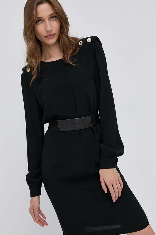 czarny Liu Jo - Sukienka Damski