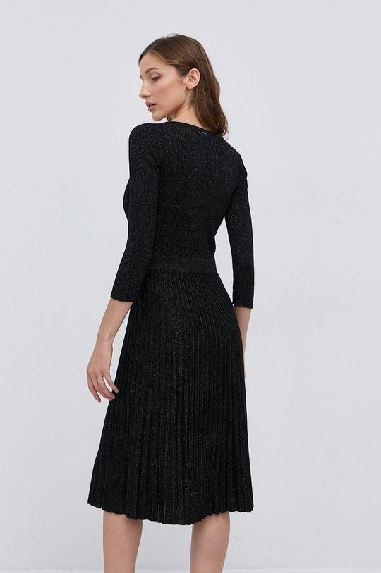 Liu Jo - Sukienka 19 % Poliester, 70 % Wiskoza, 11 % Włókno metaliczne