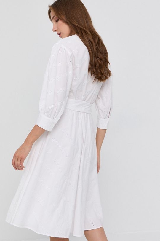 Karl Lagerfeld - Sukienka bawełniana 100 % Bawełna